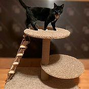 Домик для питомца ручной работы. Ярмарка Мастеров - ручная работа Игровой комплекс для кошек по вашим размерам. Handmade.