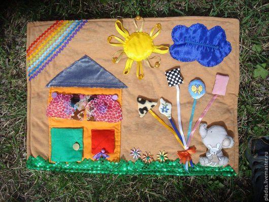 Развивающие игрушки ручной работы. Ярмарка Мастеров - ручная работа. Купить Развивающий коврик. Handmade. Развивающий коврик, развивашка