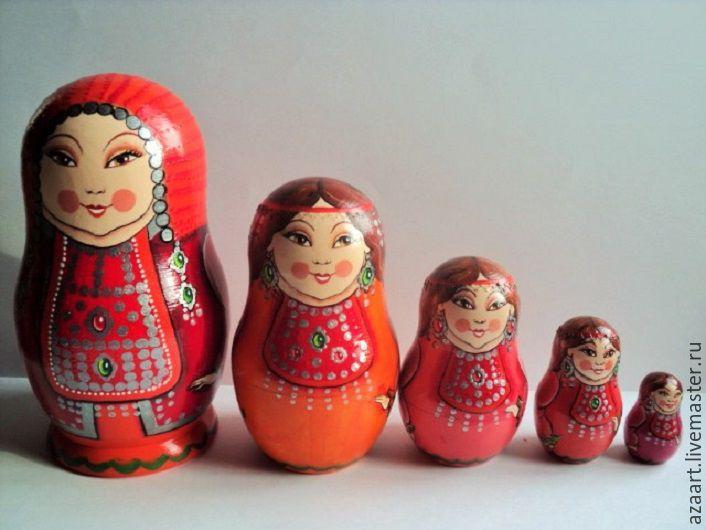 Matryoshka Bashkir 'Festive', Dolls1, Ufa, Фото №1