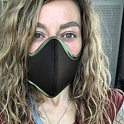 Аксессуары handmade. Livemaster - original item Protective mask: Reusable mask hacks from viruses unisex. Handmade.