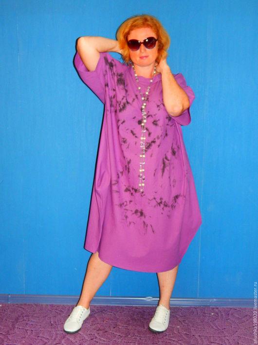 Платья ручной работы. Ярмарка Мастеров - ручная работа. Купить Платье Blueberry. Handmade. Фиолетовый, бохо-стиль