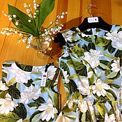 """Одежда ручной работы. Ярмарка Мастеров - ручная работа Комплект """"Мама и дочка"""". Handmade."""