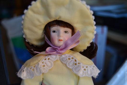 """Винтажные куклы и игрушки. Ярмарка Мастеров - ручная работа. Купить Винтажная фарфоровая кукла """"Дороти"""". США. Handmade. Разноцветный"""