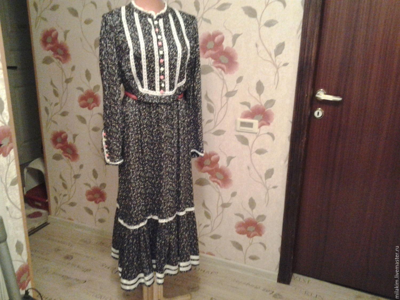 Фото деревенское платье