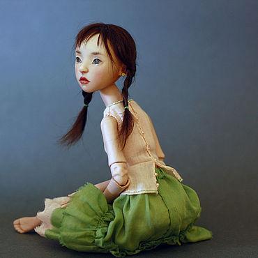 Куклы и игрушки ручной работы. Ярмарка Мастеров - ручная работа Птичка. Маленькая Странница. Handmade.