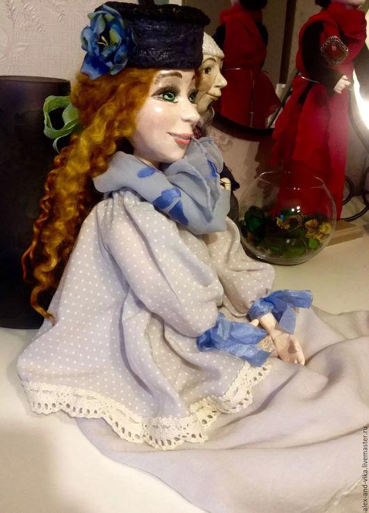 Коллекционные куклы ручной работы. Ярмарка Мастеров - ручная работа. Купить Коллекцинная кукла Евгения. Handmade. Бежевый