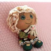 Куклы и игрушки ручной работы. Ярмарка Мастеров - ручная работа «Твое праздничное настроение»-ароматизированная авторская кукла. Handmade.