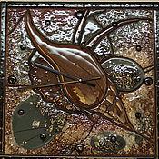 """Для дома и интерьера ручной работы. Ярмарка Мастеров - ручная работа Часы """"Ракушка"""". Handmade."""