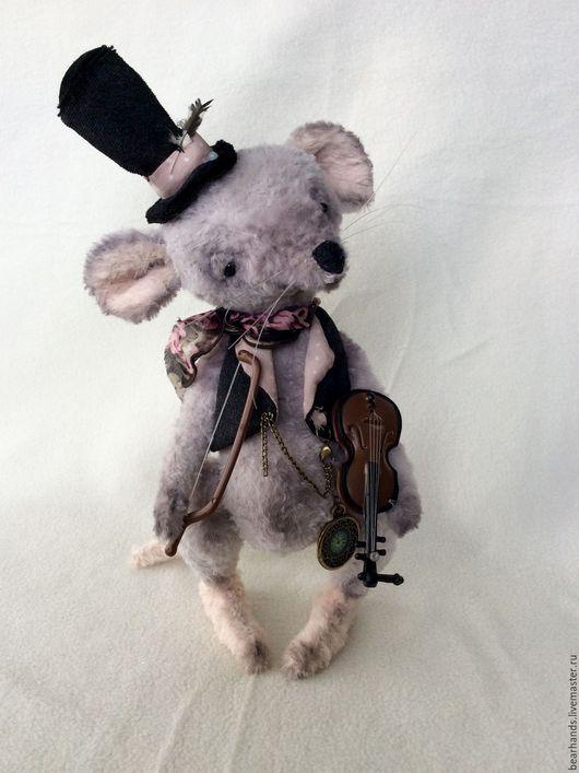 Мишки Тедди ручной работы. Ярмарка Мастеров - ручная работа. Купить Mozart. Handmade. Серый, вискоза Германия