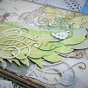 Подарки к праздникам ручной работы. Ярмарка Мастеров - ручная работа Интерьерная открытка Крылья и путь. Handmade.