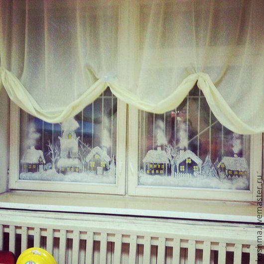 Детская ручной работы. Ярмарка Мастеров - ручная работа. Купить Зимний дворик. Handmade. Зима, зимняя сказка, дети, детская