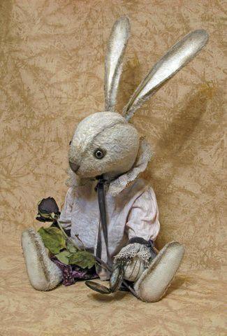 Мишки Тедди ручной работы. Ярмарка Мастеров - ручная работа. Купить Кролик Эдвард. Handmade. Комбинированный, вискоза, кролик