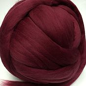 Материалы для творчества handmade. Livemaster - original item Australian Merino BlackBerry.19 MD. Germany. wool for felting.. Handmade.