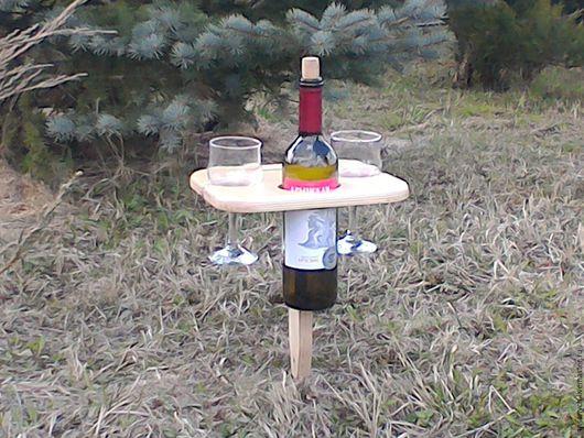 Мебель ручной работы. Ярмарка Мастеров - ручная работа. Купить Столик для пикника. Handmade. Бежевый, мебель ручной работы, дерево