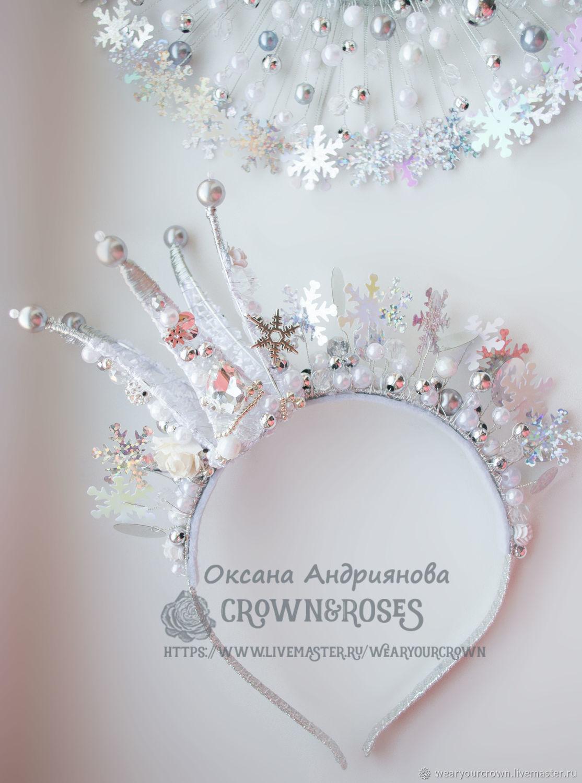 Новогодние короны своими руками 348