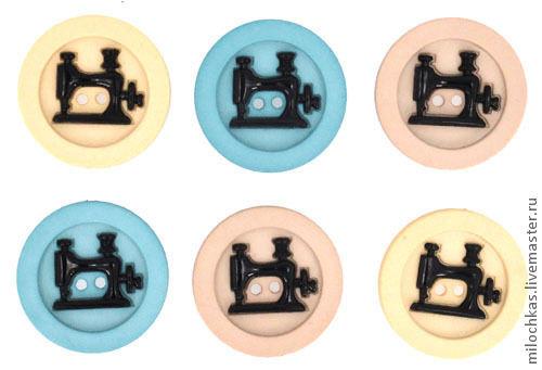 Другие виды рукоделия ручной работы. Ярмарка Мастеров - ручная работа. Купить набор пуговиц, 100руб, №6560. Handmade. Пуговицы