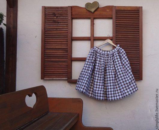"""Костюмы ручной работы. Ярмарка Мастеров - ручная работа. Купить Комплект """"Прованс"""". Handmade. Комбинированный, блуза, прованс, хлопковый комплект"""