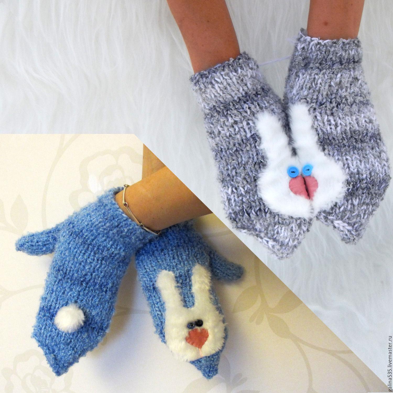 Как вязать своими руками варежки и перчатки