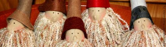 Куклы Тильды ручной работы. Ярмарка Мастеров - ручная работа. Купить Санта в стиле Тильда. Handmade. Санта тильда