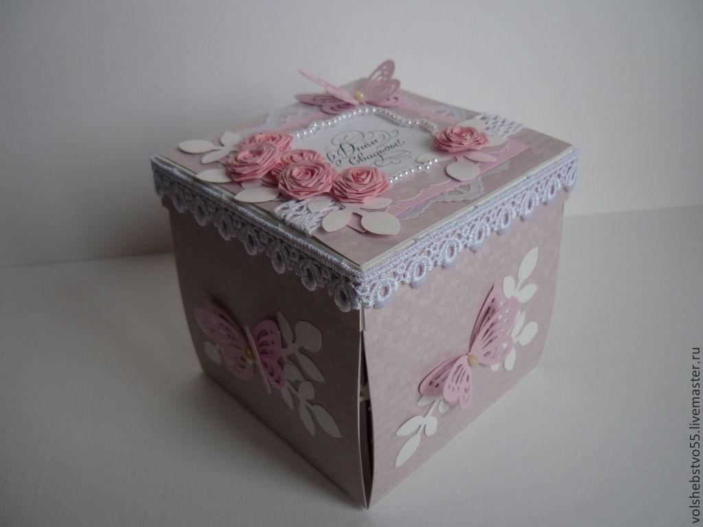 Коробка сюрприз своими руками на свадьбу фото 267
