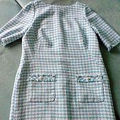 Одежда ручной работы. Ярмарка Мастеров - ручная работа Платье из твида. Handmade.