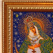 Картины и панно ручной работы. Ярмарка Мастеров - ручная работа Богородица Острабрамская. Handmade.