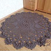 handmade. Livemaster - original item Knitted carpet