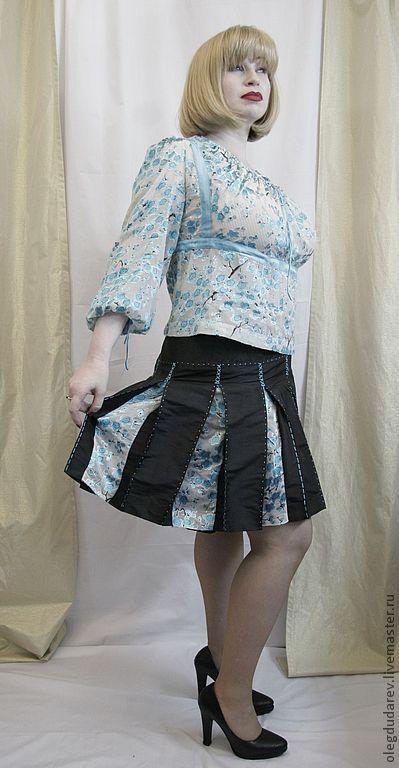 Юбки ручной работы. Ярмарка Мастеров - ручная работа. Купить юбка, блузка. Handmade. Юбка, блузка, юбка на заказ