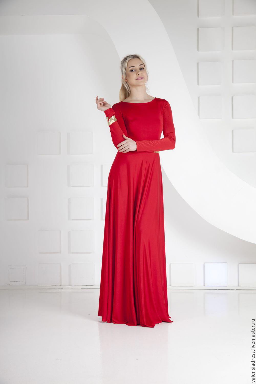 857594ea7b8 Платья ручной работы. Заказать Красное вечернее платье