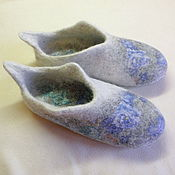 """Обувь ручной работы. Ярмарка Мастеров - ручная работа Тапочки """"Серафима"""". Handmade."""