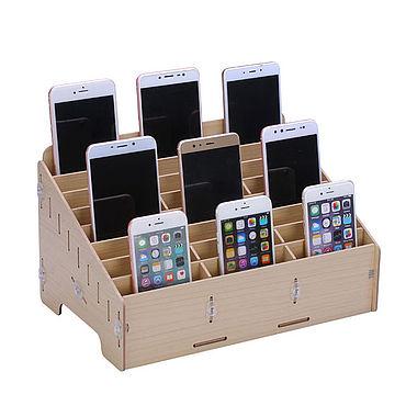 Канцелярские товары ручной работы. Ярмарка Мастеров - ручная работа Ящик для сбора телефонов на уроке. Handmade.