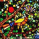 """Мозаика из стекла. """"Древо жизни""""."""