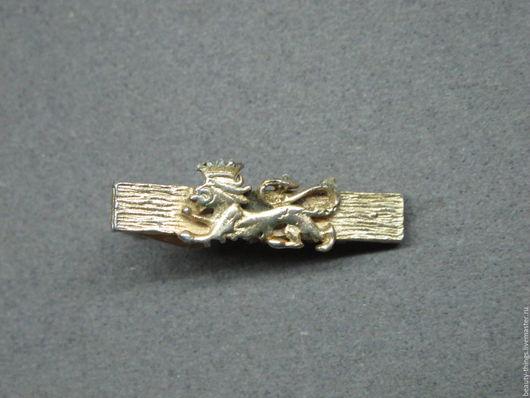 Винтажные украшения. Ярмарка Мастеров - ручная работа. Купить Винтажный зажим для галстука. Handmade. Винтаж, золотой, бижутерный сплав