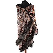 Аксессуары handmade. Livemaster - original item Stole with Fox fur. Handmade.