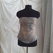 """Одежда ручной работы. Ярмарка Мастеров - ручная работа Корсаж  """"Перышко"""". Handmade."""