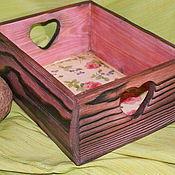 Для дома и интерьера ручной работы. Ярмарка Мастеров - ручная работа Короб,,Ситцевое лето,,-30%. Handmade.