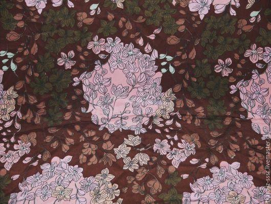Шитье ручной работы. Ярмарка Мастеров - ручная работа. Купить 8 Крепдешин Натуральный шелк винтаж СССР 2 м 35 см. Handmade.