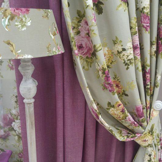 Текстиль, ковры ручной работы. Ярмарка Мастеров - ручная работа. Купить Шторы Венеция. Handmade. Серый, кружево, пошив