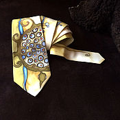 Аксессуары handmade. Livemaster - original item Details Natural Crepe de Chine silk handcrafted tie. Orna. Handmade.