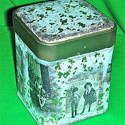 Для дома и интерьера ручной работы. Ярмарка Мастеров - ручная работа Баночки под чай или для сыпучих продуктов. Handmade.