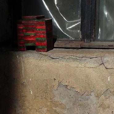 """Для дома и интерьера ручной работы. Ярмарка Мастеров - ручная работа Ваза  """"Красная"""". Handmade."""