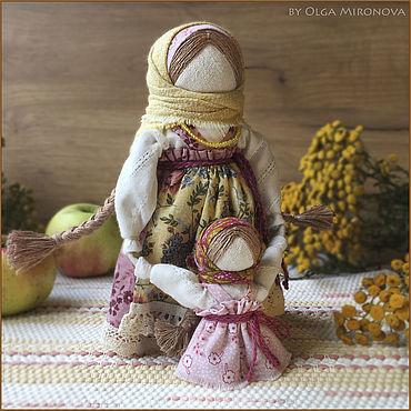 Куклы и игрушки ручной работы. Ярмарка Мастеров - ручная работа Ведучка с девочкой. Handmade.