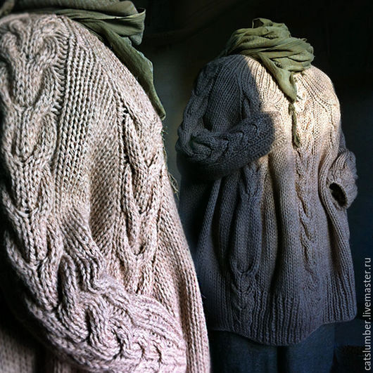 Кофты и свитера ручной работы. Ярмарка Мастеров - ручная работа. Купить Венера. Handmade. Бежевый, верблюжья шерсть, универсальный, вязание