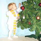 """Работы для детей, ручной работы. Ярмарка Мастеров - ручная работа Новогодний костюм """"Снеговик"""". Handmade."""
