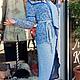 Верхняя одежда ручной работы. Вязаное шелковое пальто Бриз. Оксана Донская (fashionfur-bg). Интернет-магазин Ярмарка Мастеров.