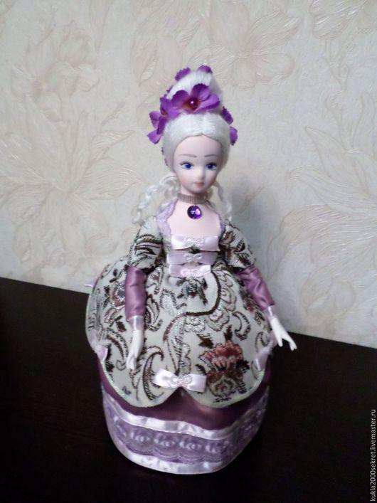 Коллекционные куклы ручной работы. Ярмарка Мастеров - ручная работа. Купить Кукла-шкатулка. Handmade. Комбинированный, сувениры ручной работы