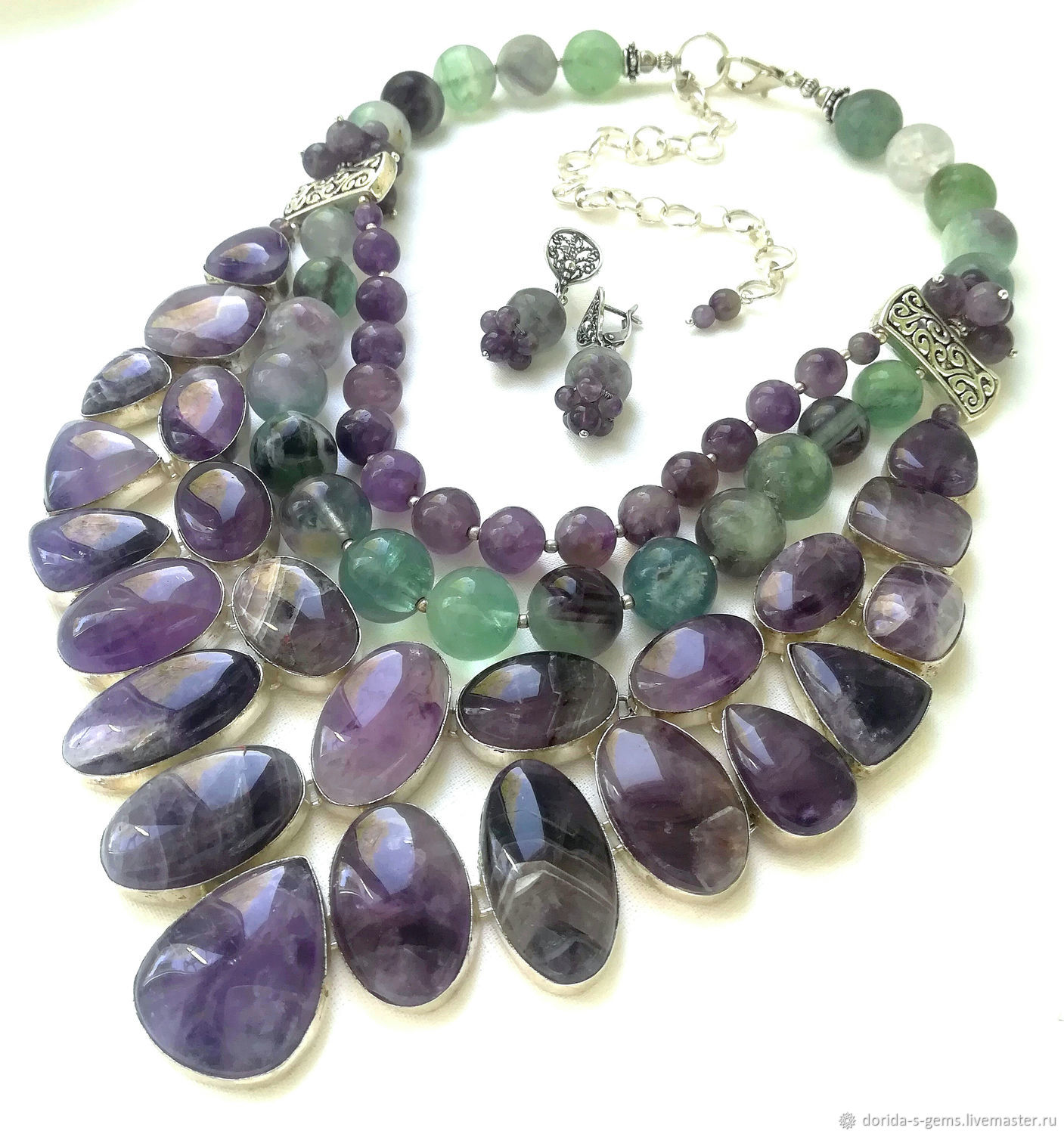 necklace, designer necklace, necklace, necklace on a every day necklace out, the necklace amethyst, necklace amethyst, necklace with fluorite, necklace for gift, beads of fluorite, beads, stones, and