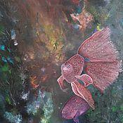 """Картины и панно ручной работы. Ярмарка Мастеров - ручная работа Картина """"Подводный мир"""".. Handmade."""