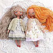 Куклы и игрушки ручной работы. Ярмарка Мастеров - ручная работа Игровые куклы подружки от 5 лет. 1000 р одна кукла. Handmade.