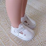 Одежда для кукол ручной работы. Ярмарка Мастеров - ручная работа Летние сандалики для Паолочки. Handmade.